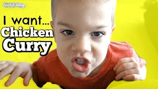 Boy Wants Chicken Curry for Breakfast?! See if Mom Can Change His Mind