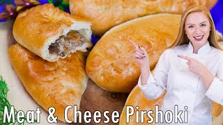 Meat and Cheese Piroshki