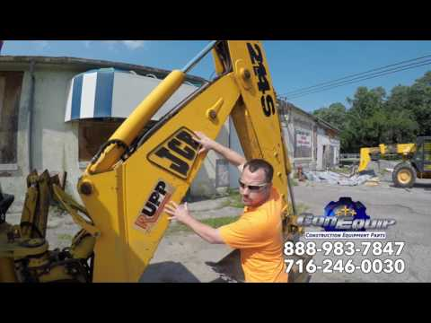 Backhoe Rental or Buy a Used One Used Backhoe Buying Tips ConEquip Parts