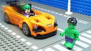 Lego Hulk Car Crash