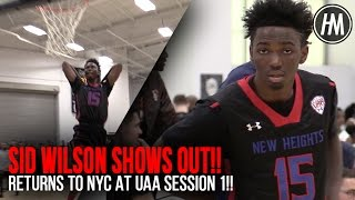 Sid Wilson SHOWS OUT in return to NYC!! Highlights vs. CBC!