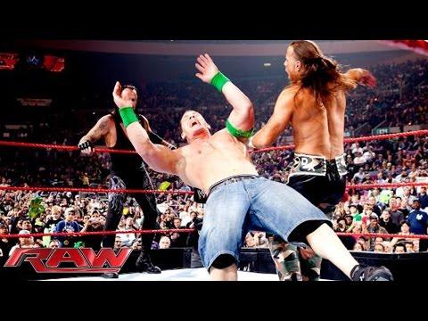 Xxx Mp4 John Cena The Undertaker Vs D Generation X Vs Jeri Show Raw November 16 2009 3gp Sex