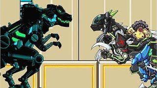 Dino Robot Adventure: Ninja Velociraptor Stage 01-20 | Eftsei Gaming