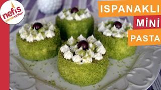 Ispanaklı Mini Pasta Tarifi - Pasta Tarifleri - Nefis Yemek Tarifleri