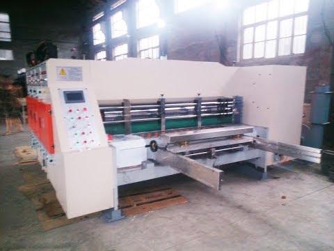 Impressora Flexográfica Caixas de papelão Fênix Máquinas
