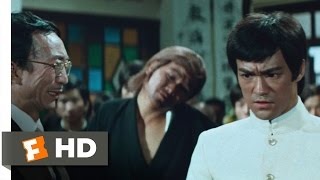 Fist of Fury (1/7) Movie CLIP - Sick Men of Asia (1972) HD