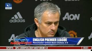 English Premier League: Manchester United Beat Chelsea 2 - 0