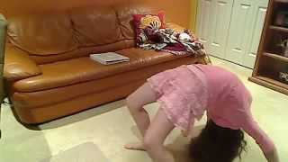 back bend and kick over!!!