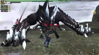 Monster Hunter Frontier G: 黑狐龍 (Mi Ru) /w Zorikune