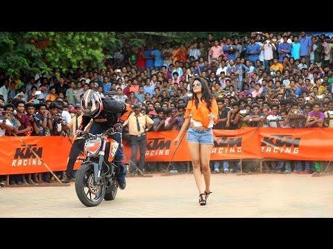 KTM ORANGE DAY | 24 DEC 2016 | STUNT SHOW | OKHLA , NEW DELHI.