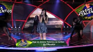 Programa Raul Gil - Bárbara Zurc (Tears of the Dragon) - Jovens Talentos - #JT2013