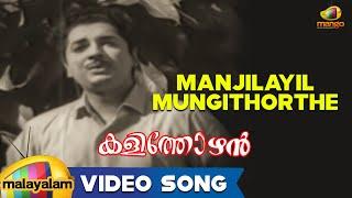 Kalithozhan Movie Songs - Manjilayil Mungithorthe Song  - Prem Nazir, Sheela