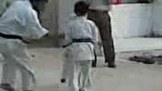 Pakistan Kyukoshin Karate Sensei Chanzaib Khan daughter