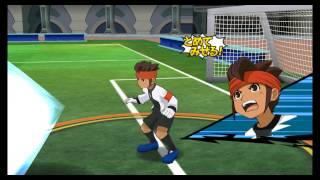Inazuma Eleven GO Strikers 2013 Chrono Storm VS Inazuma Legend Japan ( Part 1 )