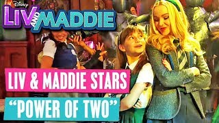 LIV & MADDIE 🙋🏼💁🏼 Power of Two 🎵 #MusicMonday | Disney Channel Songs