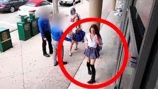 هذه الفتاة نسيت أن هناك كاميرات في المكان... شاهد ماذا فعلت !!