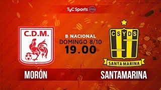 Primera B Nacional: Morón vs. Santamarina   #BNacionalenTyC