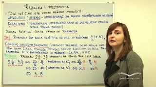 Razmera i proporcija (Proporcionalnost, Matematika)