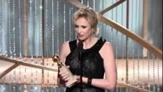 Jane Lynch - 2011 Golden Globes Awards