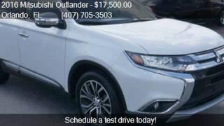 2016 Mitsubishi Outlander 2WD 4dr SE for sale in Orlando, FL