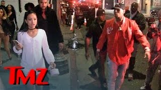 Chris Brown & Karrueche Tran -- Fool Me Thrice ... Leave Club Together, But ... | TMZ