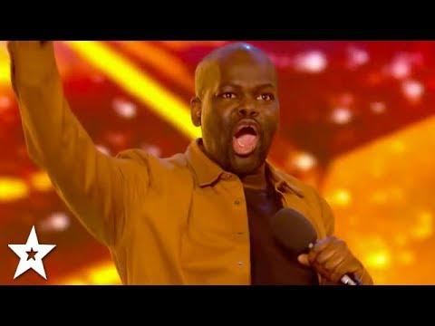 HILARIOUS Comedian Daliso Chaponda WINS GOLDEN BUZZER! | Britain's Got Talent 2017
