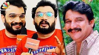 Awesome Mimicry by Zainuddin's Son : Zinil Interview   Parava Malayalam Movie