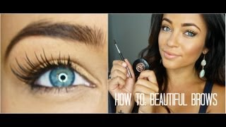 How To: Beautiful Brows