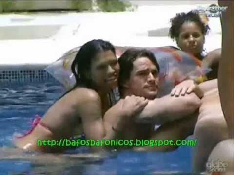 BBB11 Ariadna encoxando Rodrigo G Magazine CRÉU Big Brother Brasil