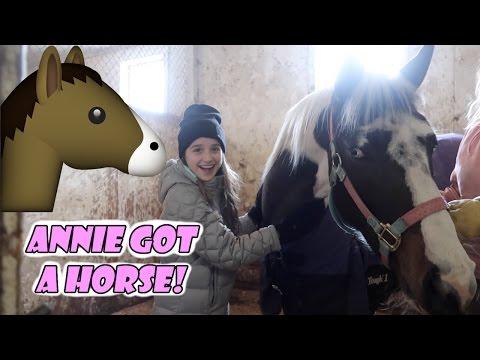 Xxx Mp4 Annie Got A Horse 🐴 WK 324 Bratayley 3gp Sex