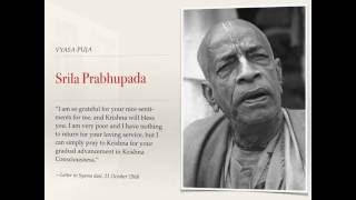 Srila Prabhupada Vyasa-puja Keynote Presentation
