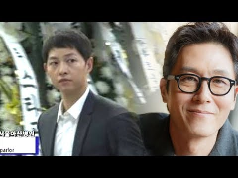 Song Joong Ki Immediately Goes to Kim Joo Hyuk's Funeral after His Wedding