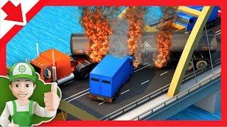 Big Trucks for kids. Cartoon Truck. Car movies for kids. Cars kids Cars. Car for children Truck