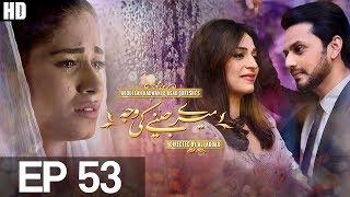 Meray Jeenay Ki Wajah - Episode 53 | Aplus HD - Best Pakistani Dramas