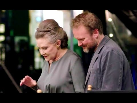 Xxx Mp4 Carrie Fisher Tribute THE LAST JEDI Behind The Scenes Footage STAR WARS CELEBRATION 2017 3gp Sex