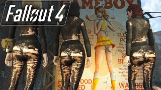 Fallout 4 Mod Review 12 - Sexy Ass Nylon and Female Harem - Boobpocalypse