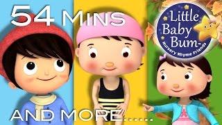 Seasons Song | Plus Lots More Nursery Rhymes | 54 Minutes Compilation from LittleBabyBum!