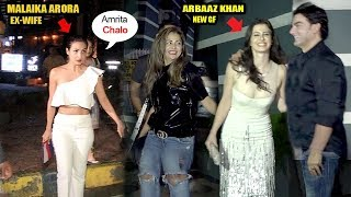 Arbaaz Khan Takes Revenge From Malaika Arora For Divorce,FLIRTS Wid New Girlfriend In Front Of Sis
