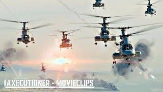 World Invasion Battle: LA |2011| All Alien Attack Scenes [Edited]
