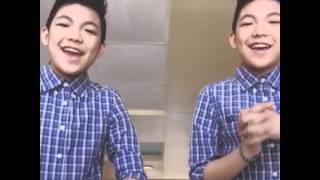 The Darren Espanto twins