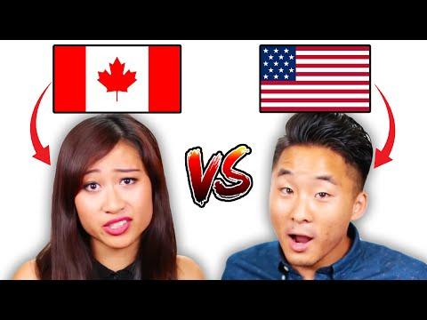 ASIAN CANADIANS VS ASIANS AMERICANS