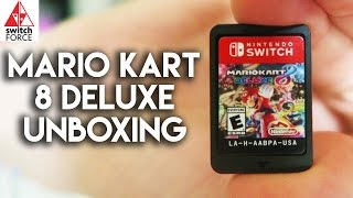 NEW SWITCH GAME!! Mario Kart 8 Deluxe Unboxing + Switch Rubix Cube