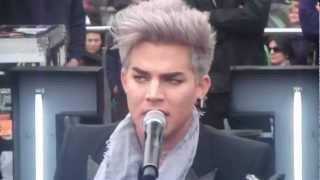 ChannelV Guerrilla Gig - Shady - Adam Lambert - Melbourne, Australia - 26th August 2012