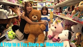 A Family Visit to a TOY STORE! Toy Hunting, Toy Shopping. Thomas & Friends, Power Wheels and More!