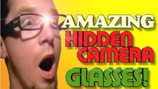 Amazing Hidden Camera Glasses!