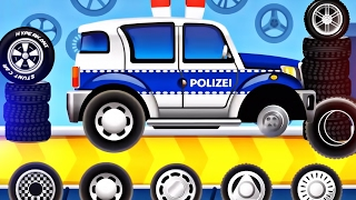 Dream Cars Factory Police Car | Build Police Car & Fire Truck - Best iOS Game App for Children