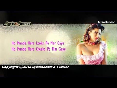 Super Girl From China Video With Lyrics - Sunny Leone   Kanika Kapoor, Mika Singh
