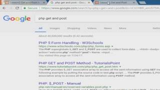 تعلم لغة ال PHP للمبتدئين - الدرس الثاني