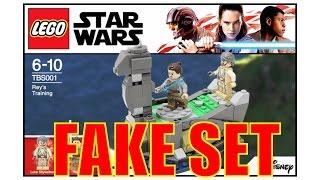 FAKE LEGO Star Wars The Last Jedi Set!