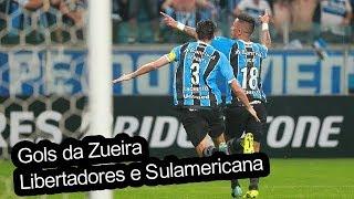 GOLS DA ZUEIRA - LIBERTADORES E SULAMERICANA #3